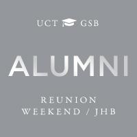 UCT GSB Alumni Reunion Weekend Johannesburg