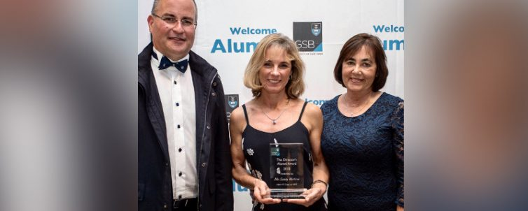 Sandy Mattison GSB Director's Alumni Award 2018