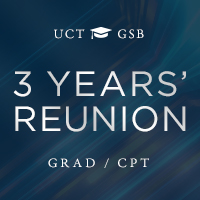 UCT GSB 3 Years' Alumni Reunion Weekend Cape Town